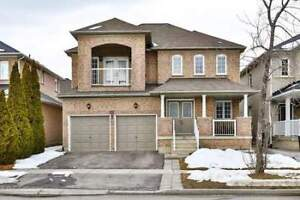Premium 3+1 bed/4 wash/2 car detached house for rent in Vaughan