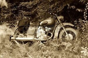 looking for old motorcycle