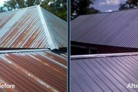 ROOF PAINTING - SEALING  - steel Roof painting 13% off