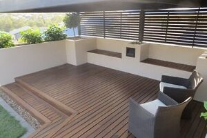 86x19mm Spotted Gum Decking Kiln Dried Hardwood Premium Product Ingleburn Campbelltown Area Preview