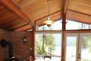 KootenayLakeCOTTAGEVacationRental-Private 680' Beach&Boat Dock