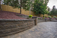 Retaining Walls and Paving Stones