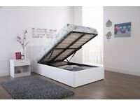 3FT single storage bed - black brown or white