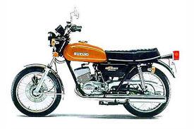 wanted GT250B Suzuki 1977 motorcycle parts GT250