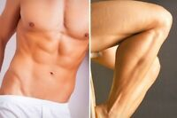 MEN WAXING SPA HAIR REMOVAL FOR MALE BROWS CHEST BACK BRAZILIAN