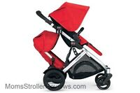 ISO single to double stroller