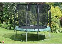 Jumpking oval pod trampoline 10ft x 15ft