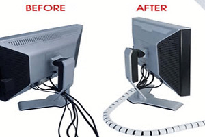 *Cable Zipper 8FT Cord Control System*