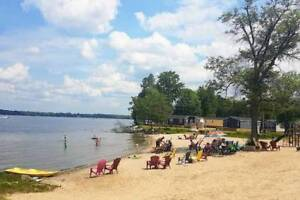 Family cottage for rent at McCreary Beach