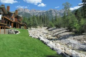 Stay at beautiful Marble Canyon in Fairmont BC  June 29 - July 6