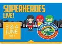 SUPERHEROES LIVE!