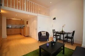 Bright and spacious studio apartment on the ground floor of a beautiful period conversion.