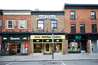 Retail Space for Lease in the Heart of the Byward Market