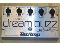 Tecamp Dream Buzz Deluxe Overdrive Fuzz Distortion Bass Effects FX Pedal