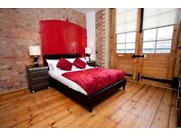 E1 ALDGATE EAST NEWLY REFURBISHED LARGE SPACIOS 3 BEDROOM WAREHOUSE CONVERSION CLOSE TO STATION