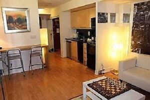 CONDO Studio furnished - Short or Long term - Yonge and Sheppard