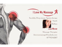 MONDAY Massage therapy appointments