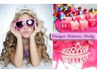 Princess pamper party