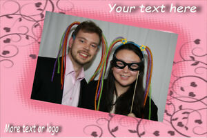 Professional photo booths, photographers - your 1-stop shop!