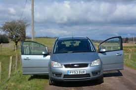 2003 Ford Focus C-MAX 1,8 Petrol Zetec Fixed Price