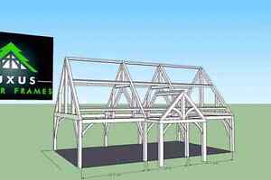 24x40 timber frame package