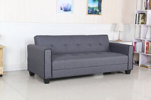 BRAND NEW MODERN GREY FABRIC SOFA BED BLOWOUT SALE $299.99!