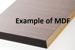 Various 4' x 8' Laminated MDF Wood Sheets for Cabinets Counters