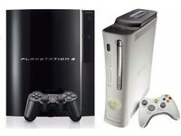 Sony Playstation/Xbox360 Consoles (S/R)