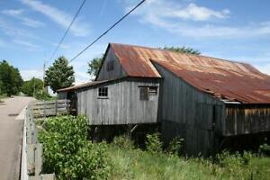 Mill for Sale (Large Timbers and Barn Board)
