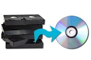 10.00 per tape VHS to DVD