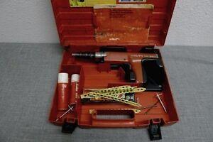 Hilti DX400 Automatic .27 cal Concrete Nail Gun