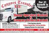 Company Drivers Required-LMIA Available