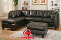 BRAND NEW CANADIAN MADE SECTIONAL-30% OFF ON REGULAR PRICE