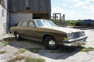 1981 Buick LeSabre Limited -As is -Great for Restoring