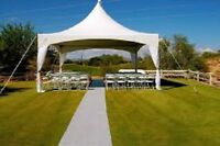 TENT FOR RENT 20'X20' $250( W TO SAT)  OR $450 (204) 229-3266