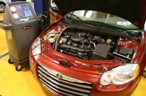 Car AC not cold? Your car most likely needs a AC gas recharge