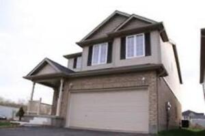 LARGE LUXURY 3 BR, 3 BATHS DETACHED HOUSE WITH FINISHED BSMT.