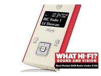 VQ Blighty DAB/DAB+/FM Personal Pocket Radio Great Sound