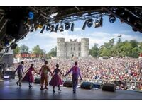 Earn up to £500 @ * Camp Bestival * 27th July - 1st August
