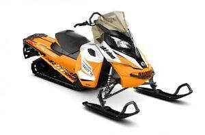 2017 Ski-Doo Renegade® Backcountry 800R E-TEC® - White/Orange London Ontario image 1