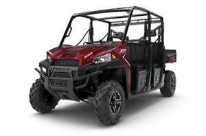 2018 Polaris Industries RANGER CREW® XP 1000 EPS - Sunset Red Me