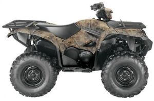 2017 Yamaha Grizzly EPS - Realtree® Xtra™ Camouflage