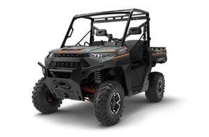 2018 Polaris Industries RANGER XP® 1000 EPS - Matte Titanium Met