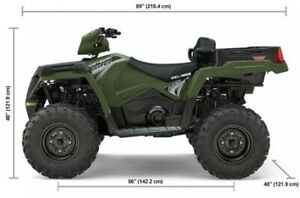 2019 Polaris Industries Sportsman® X2 570 - Sage Green