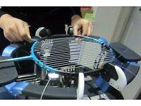 Badminton racket stringing service in Slough, Berkshire