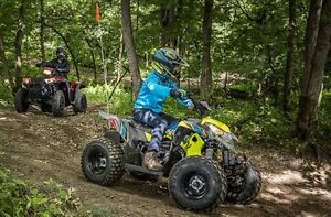2017 Polaris Industries Outlaw® 50 Lime Squeeze