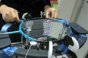 Badminton Racket Stringing Service!
