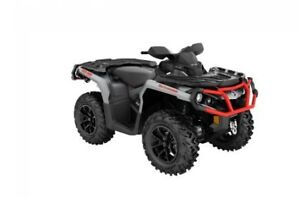 2018 Can-Am Outlander™ XT™ 650 - Brushed Aluminum & Can-Am Red