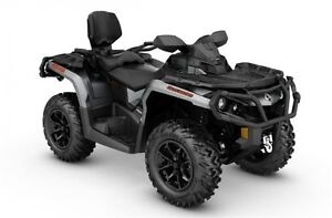 2017 Can-Am Outlander™ MAX XT™ 1000R - Brushed Aluminum London Ontario image 1