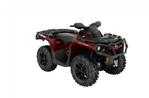 2018 Can-Am Outlander™ XT™ 850 - Brushed Aluminum & Can-Am Red